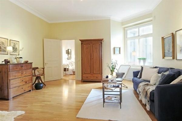 design scandinave salon déco simple