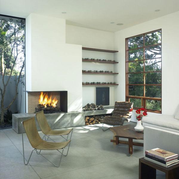 intérieur salon design minimaliste