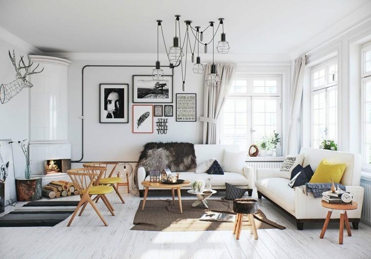 design scandinave salon moderne