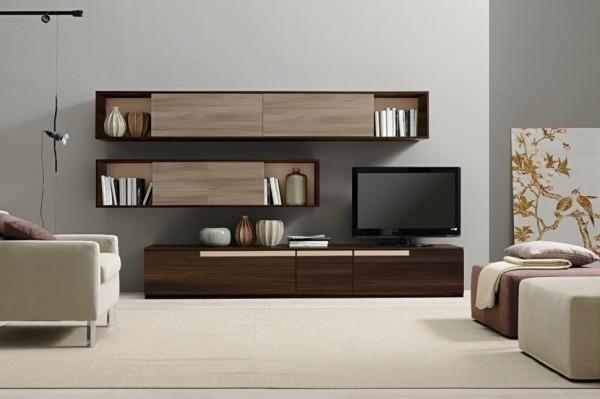Armoire De Rangement Pour Un Sejour Moderne Decoration Salon