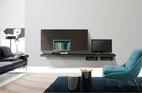 Armoire De Rangement Pour Un Sjour Moderne  Decoration Salon