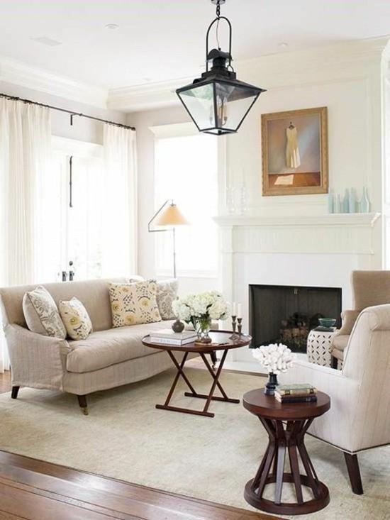 salon cheminee design chaleureux