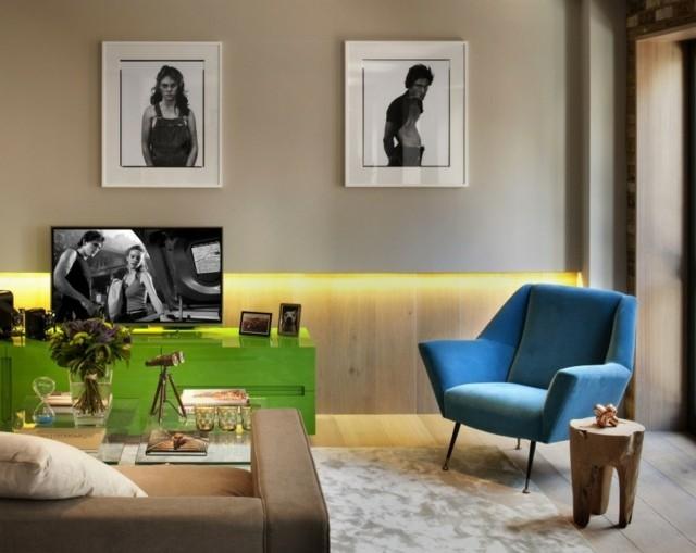 salon déco meubles intéressants