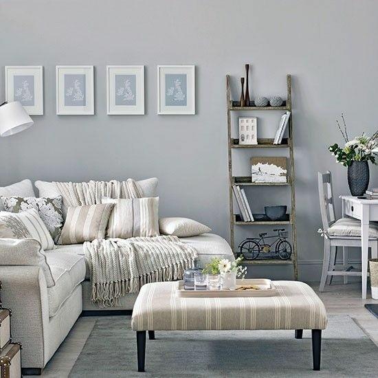 salon deco murs gris