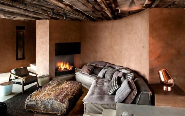 salon deco style orientale moderne