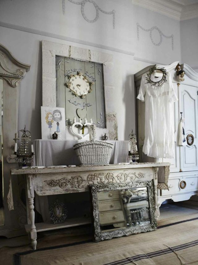 deco salon shabby chic