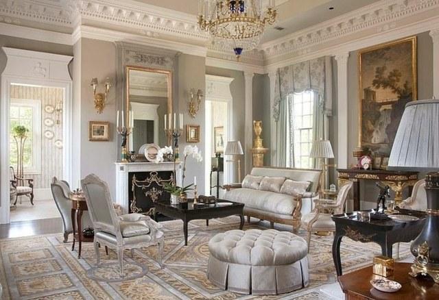 decoration interieur salon classique