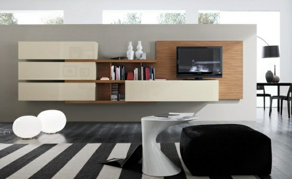 design salon moderne meuble TV