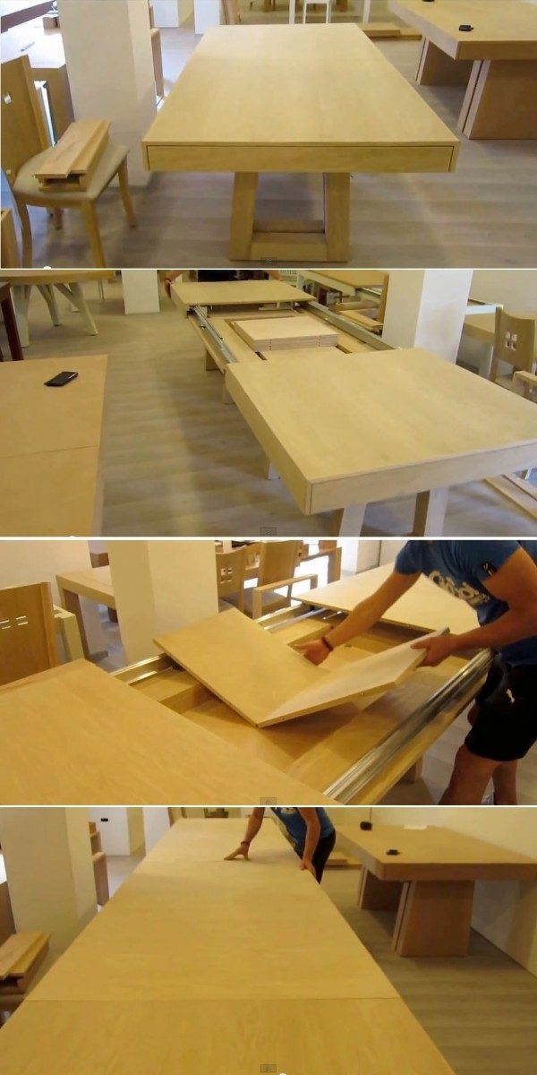 idee table manger multifonctionnelle