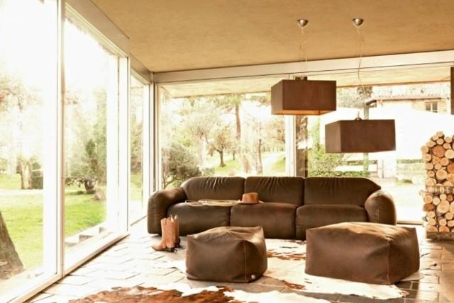 meubles salon deco rustique