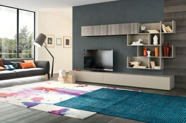 meubles télé bois design original