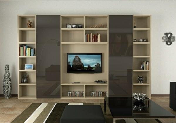 meubles télé design laque moderne