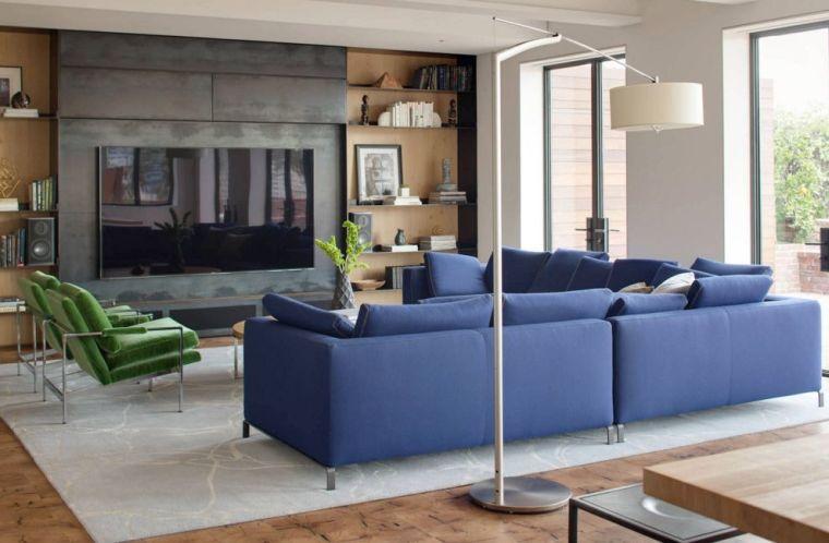 meubles télé moderne salon deco