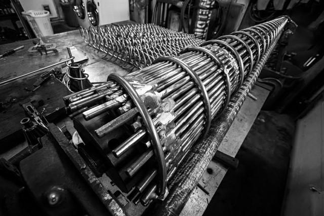pied de table metal acier mandrin enroulement fer forge