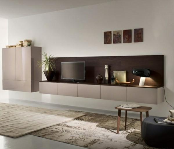 salle séjour deco meuble tv laque