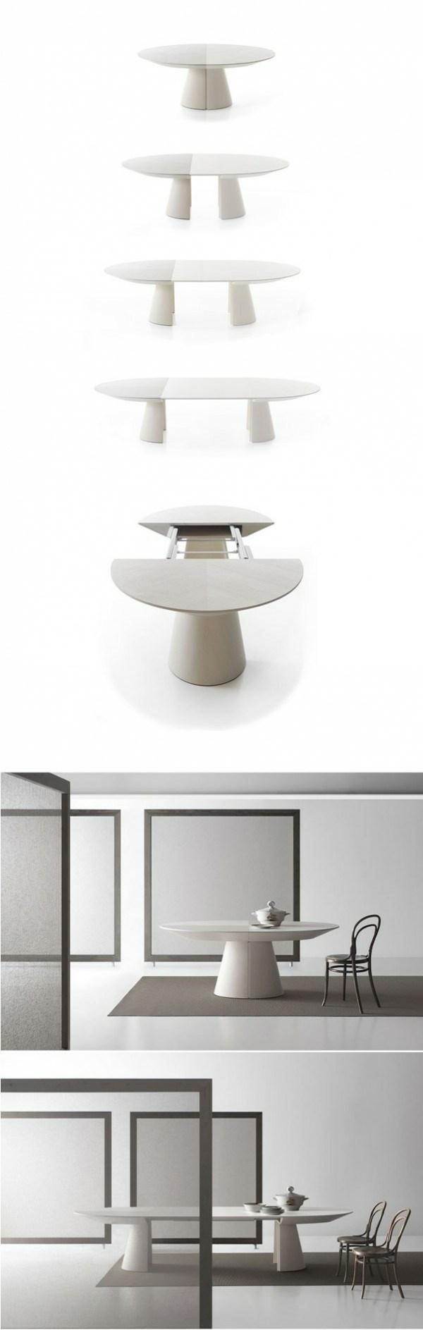 table design blanche deco Bauline
