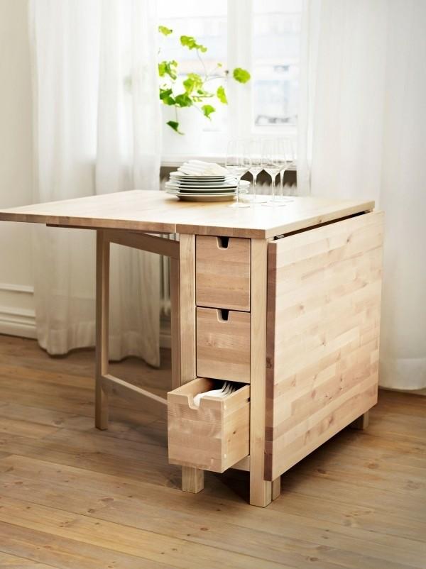 table rallonge bois design interessant