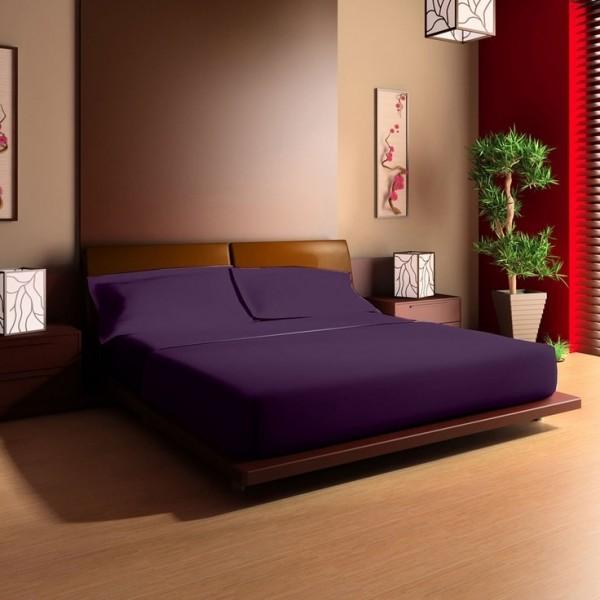 cambre coucher grand lit blue