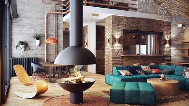 cheminee design salon