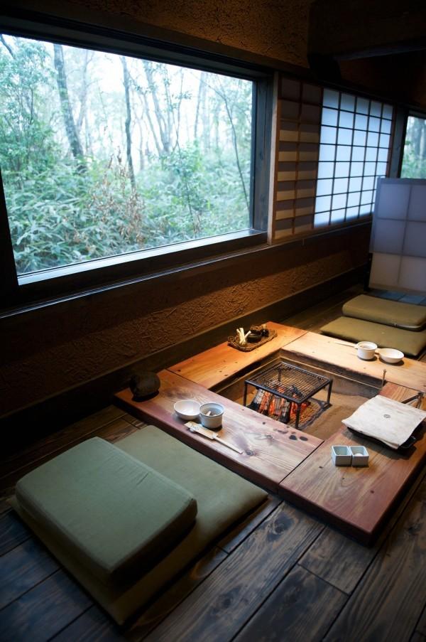 coin manger feu style japonais