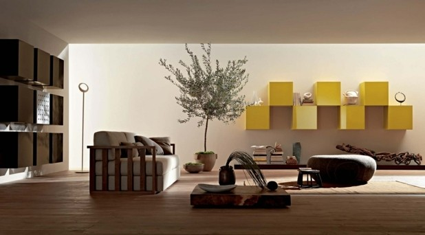 decoration salon moderne zen design