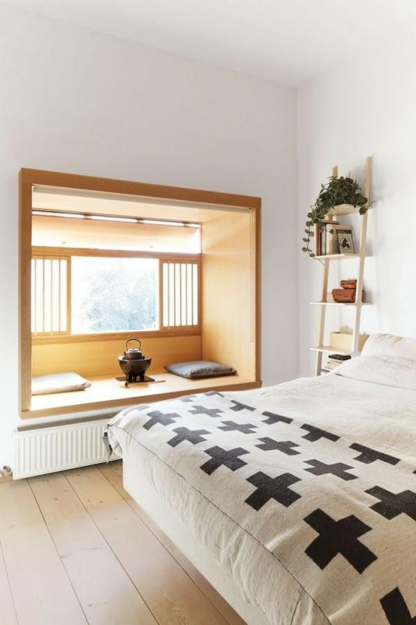 detail chambre coucher niche the