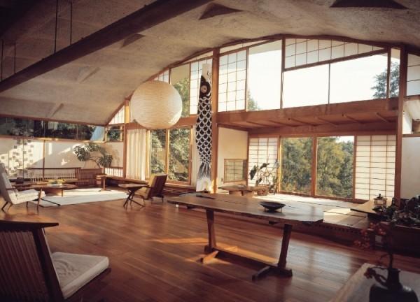 grand salon japonais bois
