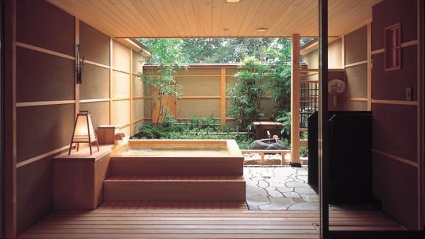 jacuzzi exterieur bois japonais