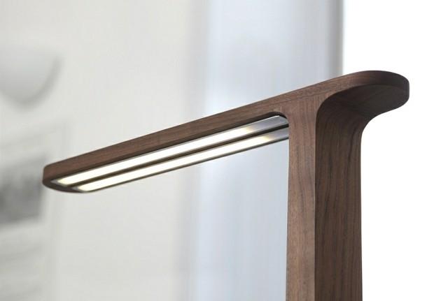 lampadaire bois design Gru
