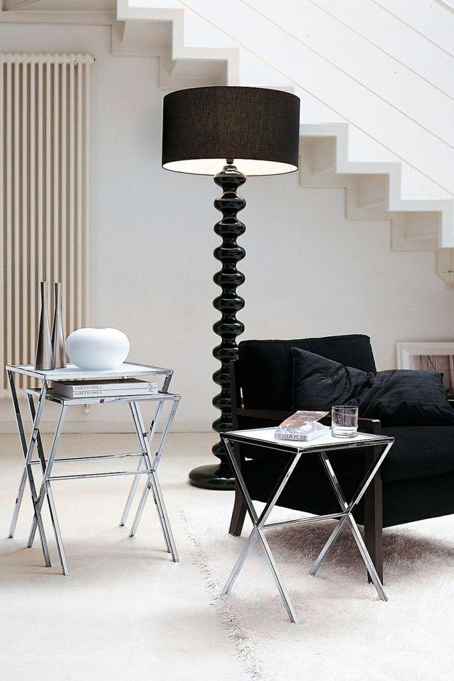 lampes de salon noir design