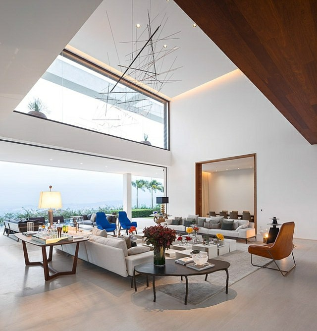 luminaire salon design