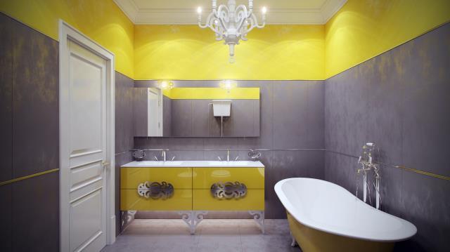 salle-bain-plafond-comode