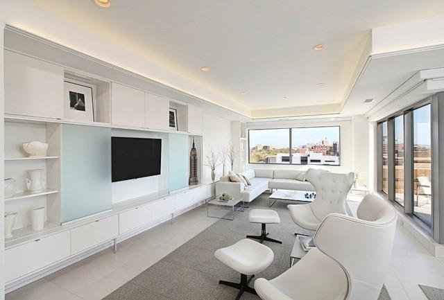 salon blanc design