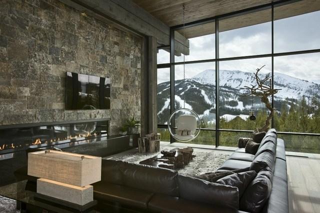 salon moderne belle vue