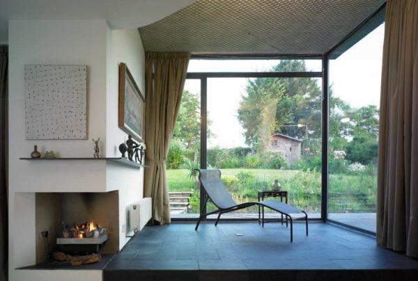 salon zen moderne maison idee deco nature