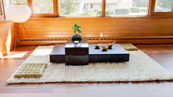idee salon zen salle de sejour decoration asiatique