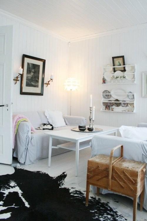 sejour scandinave blanc peau vanity interieur