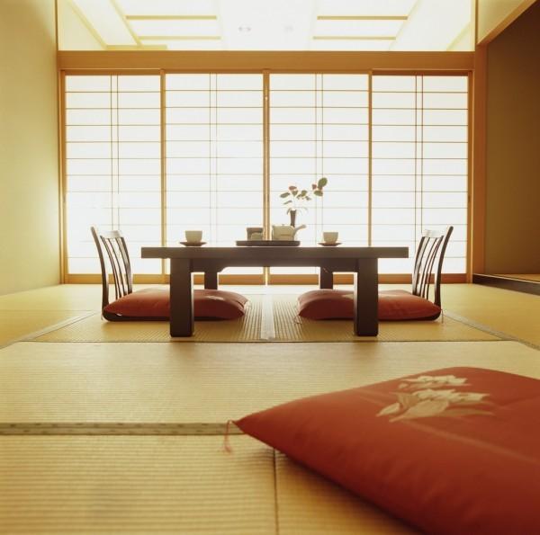 table manger japonaise zen