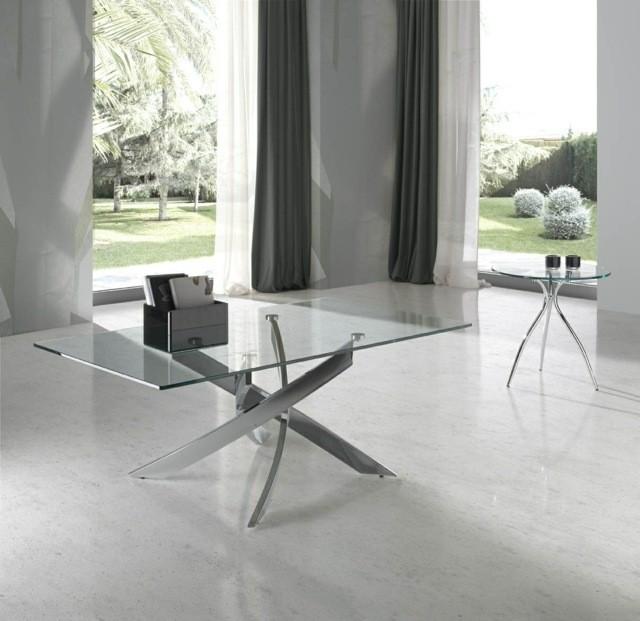 croisés pieds basse table futuiste novateur