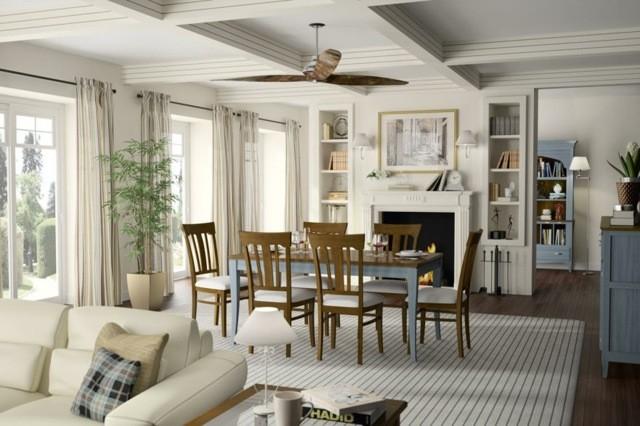 33 id es pour une salle manger en bois decoration salon - Decoration salon moderne salle a manger ...