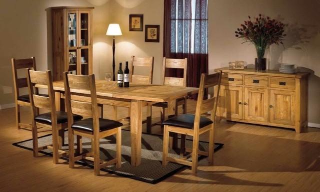 33 idées pour une salle à manger en bois , Decoration Salon !