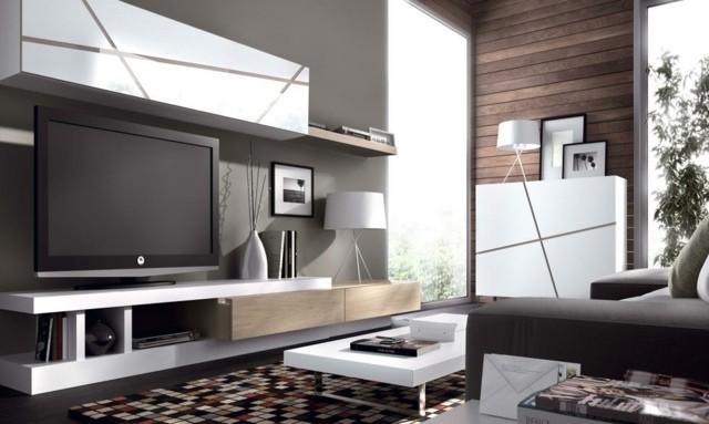 idee decoration salon tele