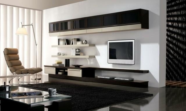 meuble télé laquee
