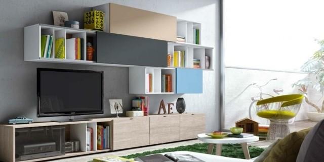 meuble tele créatif