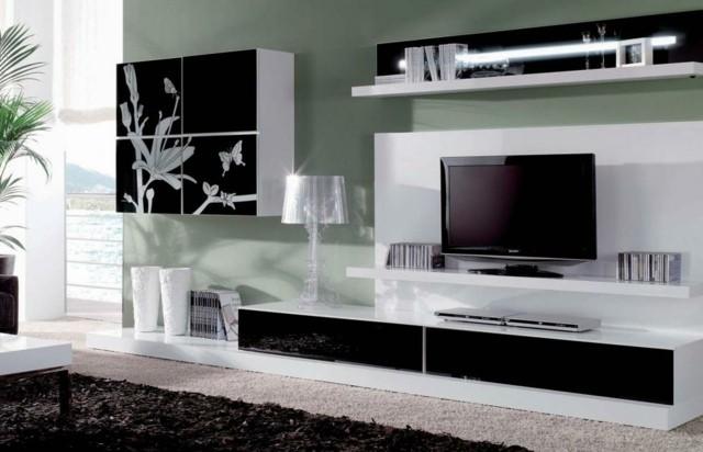 meuble tv motifs deco