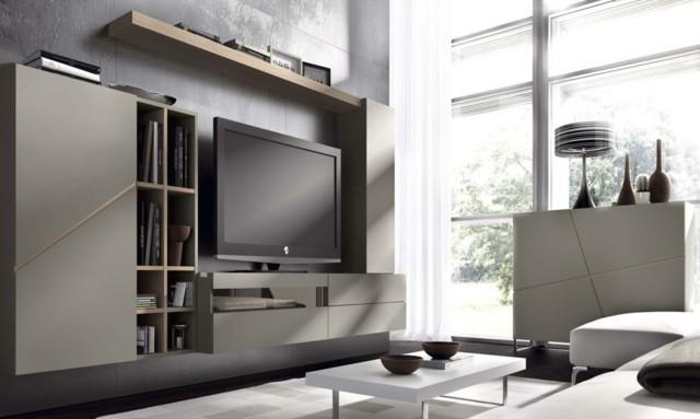 mobilier salon gris