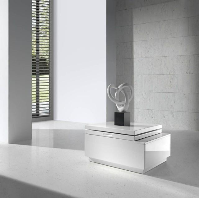 moderne design table sejour basse carree