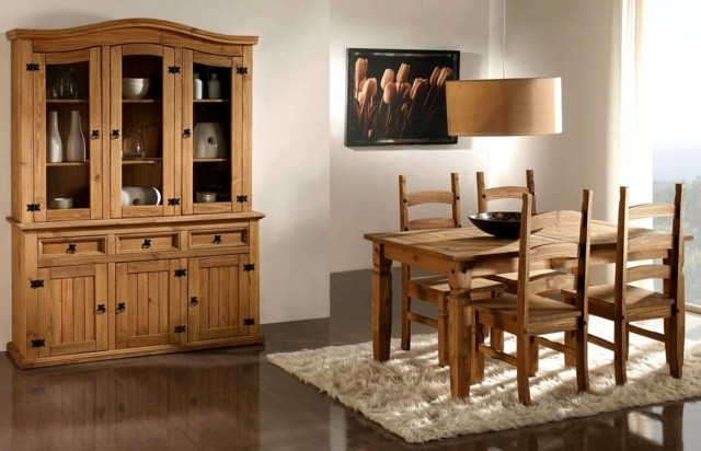 muebles modernes bois salle manger