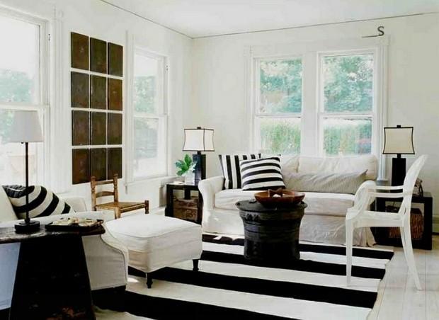 noir blanc sejour plage zone lounge