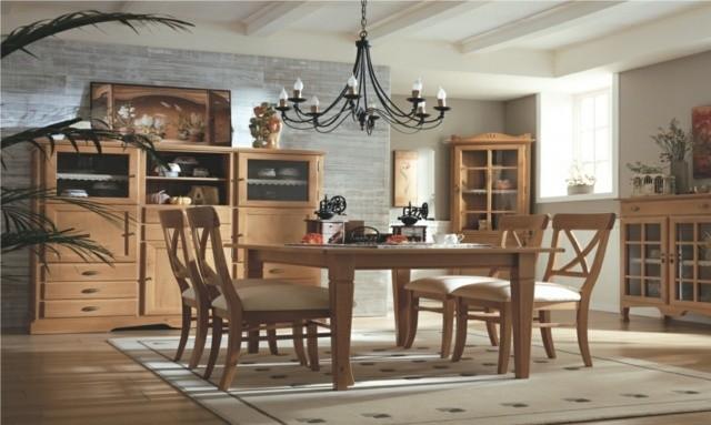 33 Idees Pour Une Salle A Manger En Bois Decoration Salon